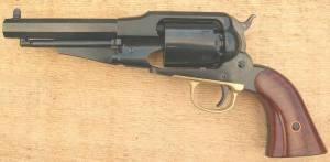 Revolver UBERTI 1858 SHERIFF 44 PN canon 5,5 pouces.