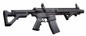 Fusil d' assaut CROSMAN DPMS SBR Full Auto Cal. 4,5 MM à CO².