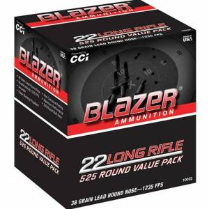 Cartouches 22 LR CCI BLAZER Value Pack de 525.