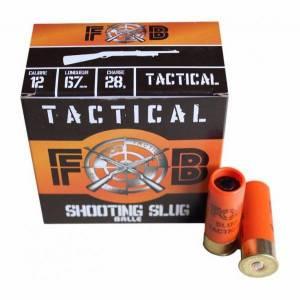 Cartouches FOB SLUG TACTICAL Cal. 12 X 25.