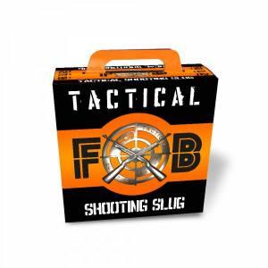 Cartouches FOB SLUG TACTICAL Cal. 12 X 100.
