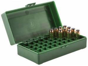 Boite MEGALINE pour 50 Cart. 44 Magnum / 45 Colt.
