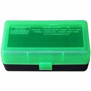Boite MTM RSLD 50 pour 243 / 270 WSM / 500 S&W GREEN / BLACK.