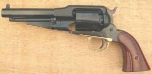 Revolver UBERTI 1858 SHERIFF 44 canon 5,5 pouces.