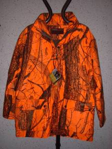 Veste CAMOSPORT Orange Taille L.