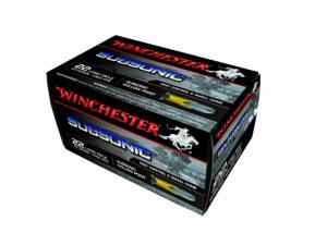 Cartouches 22 LR WINCHESTER Subsoniques HP X 500.