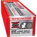 Cartouches 22 LR WINCHESTER SUPER X HV par 100.
